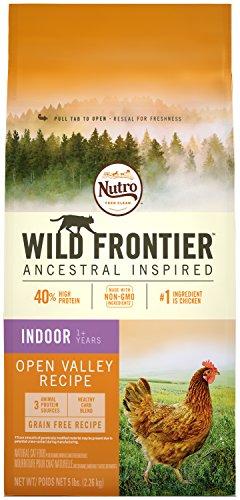 NUTRO WILD FRONTIER Indoor Adult Chicken Flavor Dry Grain Free Cat Food 5 Pounds