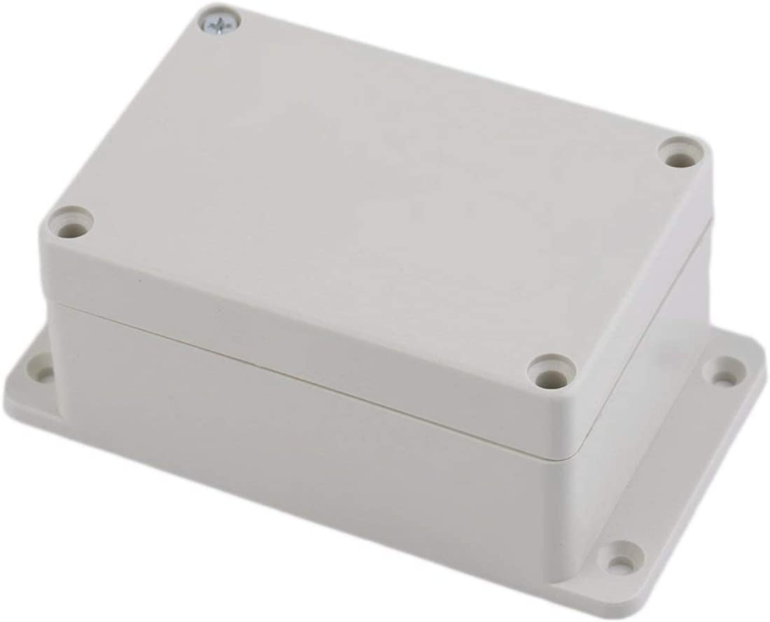 Color:White Waterproof 100 x 68 x 50mm Plastic Electronic Project Box Enclosure Case DIY Enclosure Instrument Case