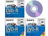 SONY ビデオカメラ用DVD-R(8cm) 3枚パック 3DMR60A