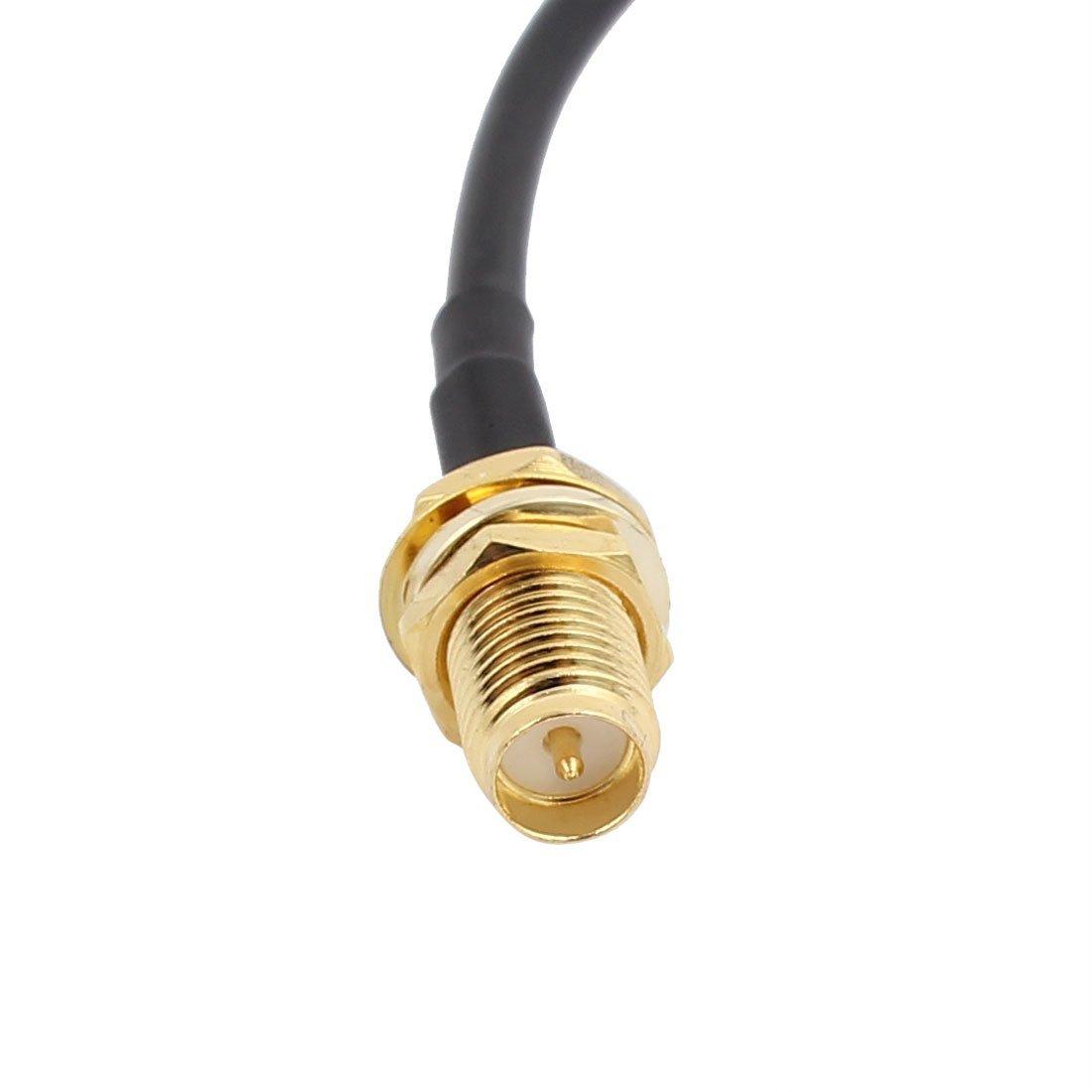 Amazon.com: DealMux 2pcs 50 centímetros RG174 Antena Cabo de extensão RP-SMA Male to Female Connector Pigtail Cable: Electronics