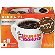 Dunkin' Donuts Original Blend Coffee for K-cup Pods, Medium Roast, For Keurig Brewers, 60 Count