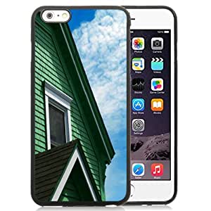 Beautiful Custom Designed Cover Case For iPhone 6 Plus 5.5 Inch With Green House Phone Case
