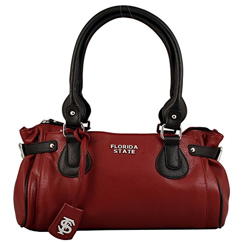 NCAA Florida State Seminoles Baywood Academic Handbag, Small by Sandol
