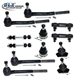 DLZ 12 Front Suspension Kit-Ball Joint Tie Rod End Sway Bar for 1977-1984 Buick Electra 1977-1985 Buick Lesabre 1987-1992 Cadillac Brougham 1977-1996 Chevrolet Caprice 1977-1996 Chevrolet Impala
