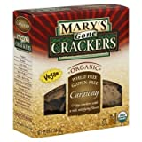 Mary'S Caraway Crackers Gluten Free 6.5 Oz (Pack of 12) - Pack Of 12