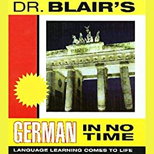Dr. Blair's German in No Time Audiobook