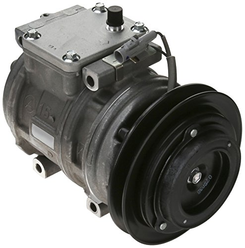 Denso 471-1141 New Compressor with Clutch ()
