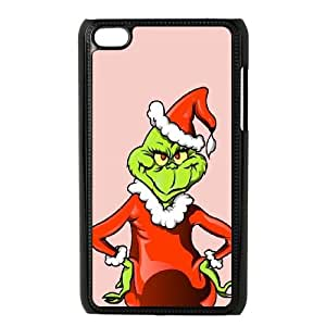 The Grinch Christmas Illustration iPod Touch 4 Case Black phone component RT_402390