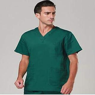QZHE Abbigliamento medico Tuta Medica per Infermiere Uniforme per Uso Ospedaliero
