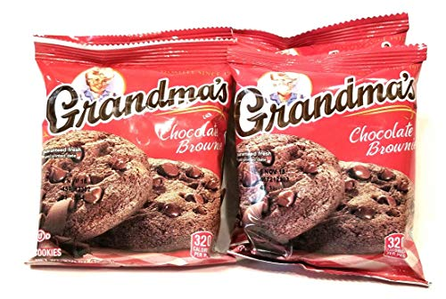 Grandma's Cookies Chocolate Chip Brownie Flavored 8 Pack