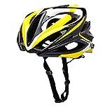 Cheap Kali Protectives Phenom Orbit Road Helmet – BLACK/YELLOW, MEDIUM/LARGE