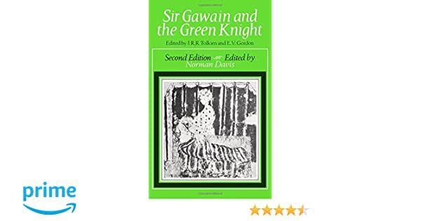 Sir gawain and the green knight j r r tolkien e v gordon sir gawain and the green knight j r r tolkien e v gordon norman davis 9780198114864 amazon books fandeluxe Image collections