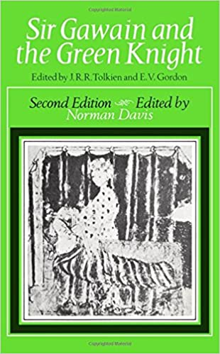 Sir gawain and the green knight j r r tolkien e v gordon sir gawain and the green knight 2nd edition fandeluxe Image collections