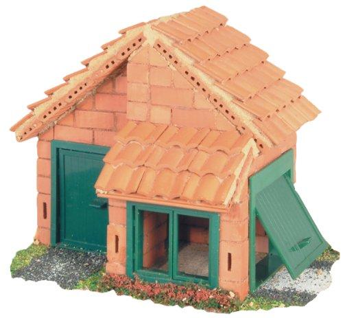 Teifoc House Tile Roof Brick Construction Set - 207 Pc. Educational Toy - Intro to Engineering and STEM ()