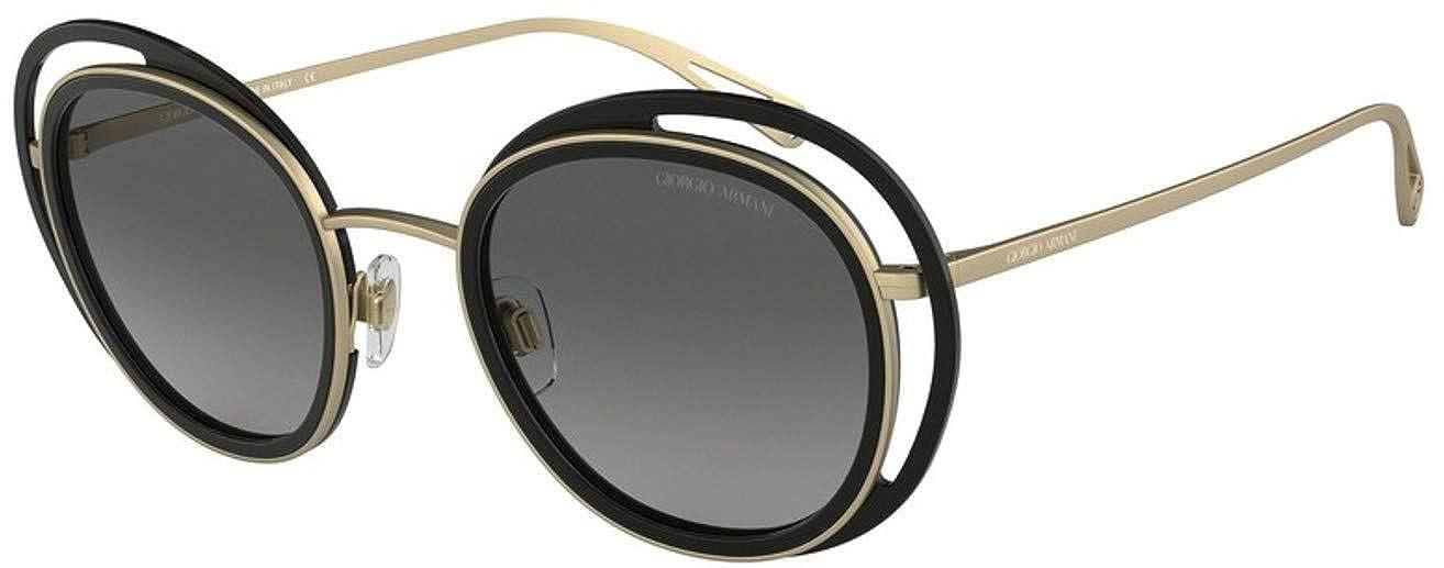 Armani Giorgio 0AR6081, Gafas de Sol para Mujer, Black/Matte ...