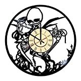 Fun Door The Nightmare Before Christmas Handmade Vinyl Record Wall Clock - Best Gift