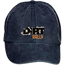ZHENGXING Dirt Rally Logo Racing Game Logo Men's Cotton Washed Baseball Cap Velcro Adjustable Hats Caps