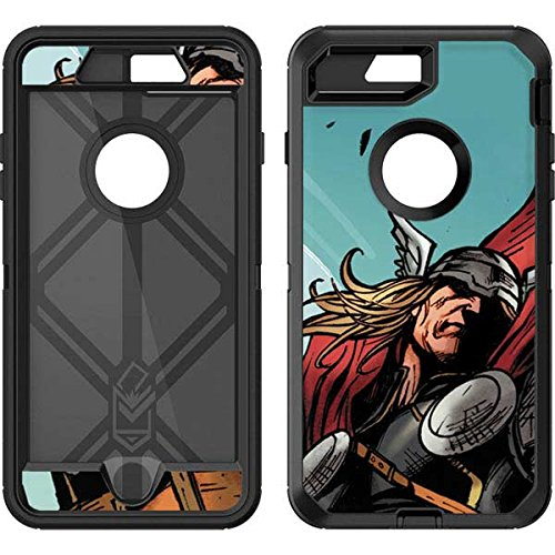 Skinit Marvel Thor OtterBox Defender iPhone 7 Plus Skin - Thor Punch Design - Ultra Thin, Lightweight Vinyl Decal Protection