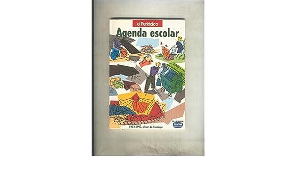 Agenda escolar curso 1992-1993: varios: Amazon.com: Books