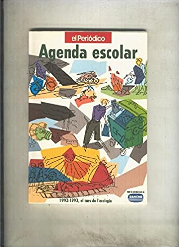 Agenda escolar curso 1992-1993: varios: Amazon.com: Books