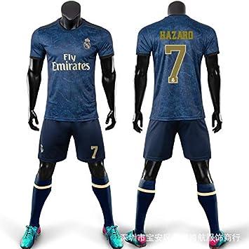Camiseta visitante del Real Madrid, Real Madrid 7 Hazard ...