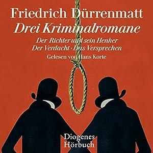 Drei Kriminalromane Audiobook