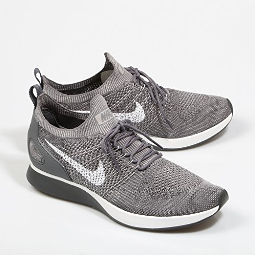 Nike Herren Air Zoom Mariah Flyknit Racer Grau Mesh Sneaker Grau (Gunsmoke/Atmoshphere Grey/Dark Grey/White)