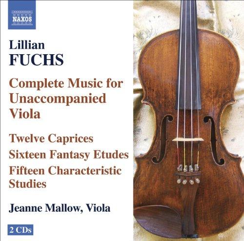 Fuchs, L.: Complete Music for Unaccompanied Viola