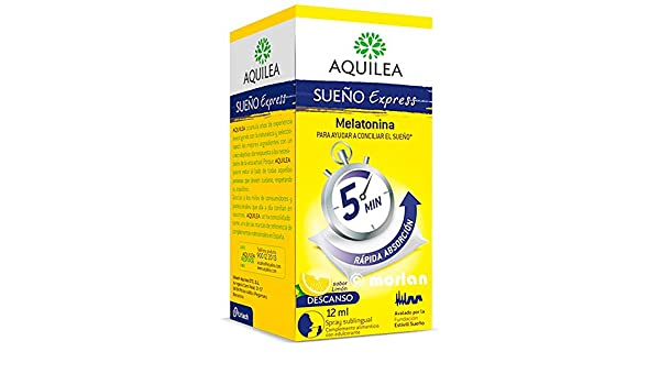 Aquilea Sueño Express Spray Sublingual, 12ml: Amazon.es: Salud y cuidado personal