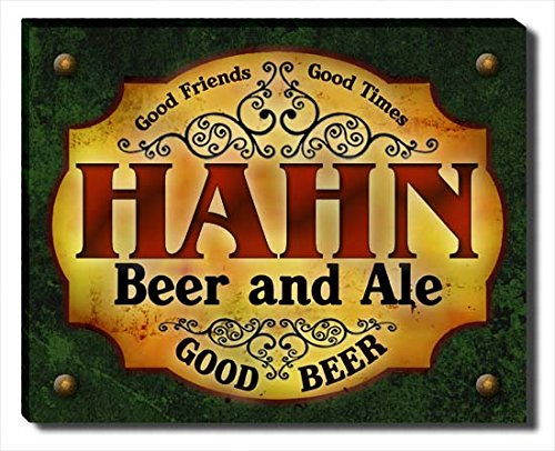 hahn-beer-ale-stretched-canvas-print