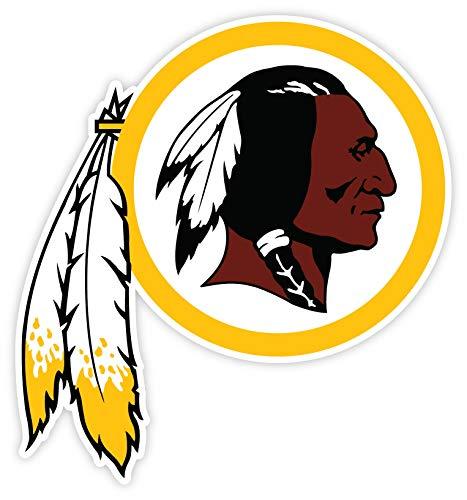 2 Washington Redskins NFL vinyl sticker decal for cornhole 15