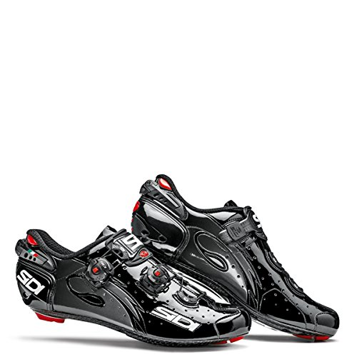 Sidi Men's Wire Vent Carbon Cycling Shoes Black (41)