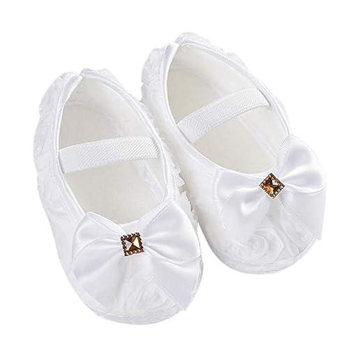 Zapatos Bebe Niña, ❤ Zolimx Bebé Niña Rosa Bowknot Banda Elástica ...