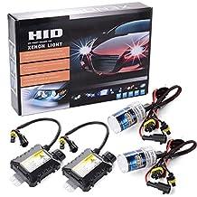 XCSOURCE 55W HID Xenon Light Headlight Lamp Conversion Kit H7 6000K Replacement Bulb MA98