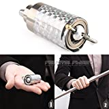 Silver Metal Appearing Cane Wand Stick Stage Magic Trick Gimmick ILLUSION