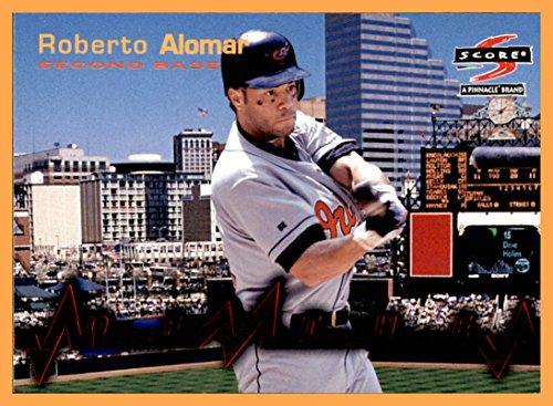 Baltimore Orioles Heart - 1997 Score Heart of the Order #11 Roberto Alomar BALTIMORE ORIOLES
