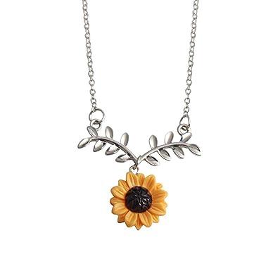 Buy Wintefei Lovely Girl Daily Makeup Cute Sunflower Leaf Branch