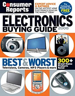 electronics buying guide 2008 consumer reports electronics buying rh amazon com Best Buy Electronics Department Best Places to Buy Electronics