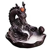 MeiHao Incense Holder Ceramics Dragon Backflow Incense Burner