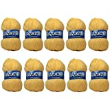 Distrifil - 10 pelotes de laine à tricoter Distrifil AZURITE 0030 pas cher 100% acrylique - 0030