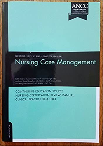 9781935213321: nursing case management review and resource manual.