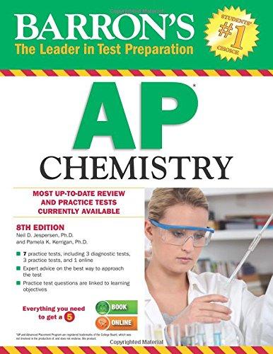 Barron's AP Chemistry, 8th Edition cover