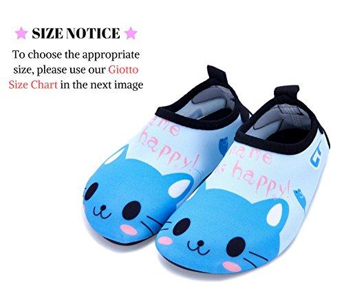 Giotto Kids Zwemwaterschoenen Sneldrogend Antislip Voor Jongens En Meisjes B2-blauw