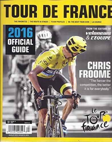 (Tour De France 2016 Official Guide (Chris Froome))