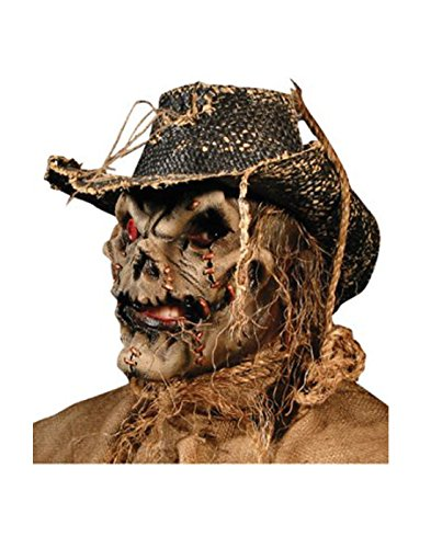 Rubie's Unisex-Adult's Standard Reel F/X Scarecrow Latex Appliance, Multi, One Size -