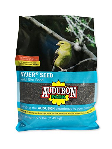 Audubon Park 12222 Nyjer/Thistle Seed Wild Bird Food, 5.5-Pounds