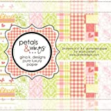 Gina K. Designs 6 X 6 Patterned Paper Pack - Petals and Wings