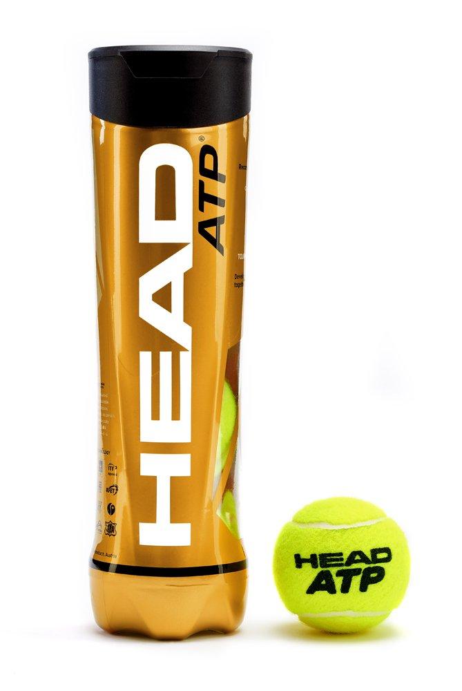 Head ATP – Pelotas de Tenis (4 Unidades)