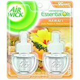 Air Wick Essential Oils Scented Oil Air Freshener Refill, Hawaii 2 ea (Pack of 5)