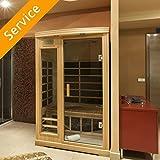 Indoor Sauna Assembly - 3 Person Sauna